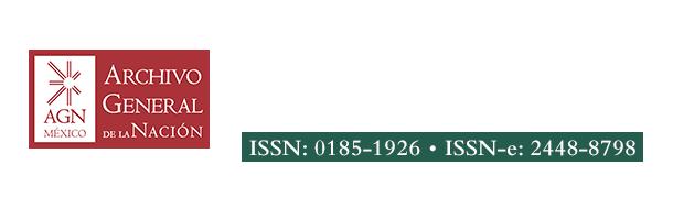 Legajos. Boletín del Archivo General de la Nación